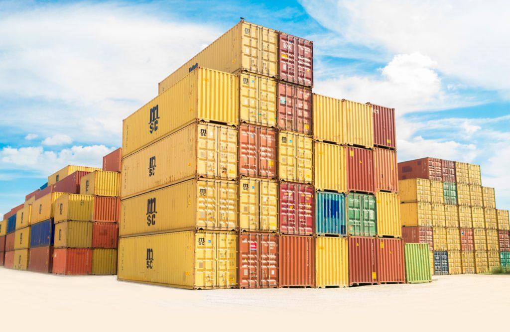 Ile waży kontener morski